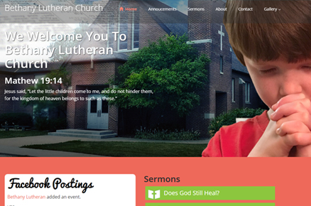 Bethany Church Website